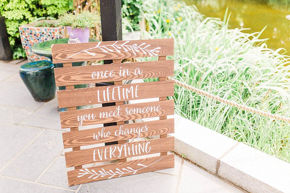 Wooden Pallet Sign Signage Sheene Mill Wedding Terri & Lori Photography and Film Studio