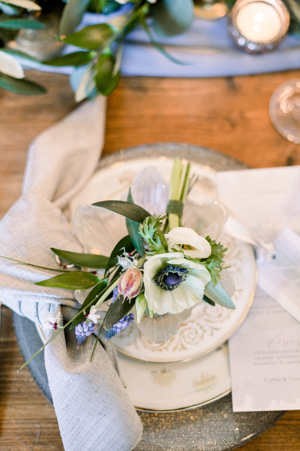 Winter Blue Barn Wedding Ideas Joanna Briggs Photography