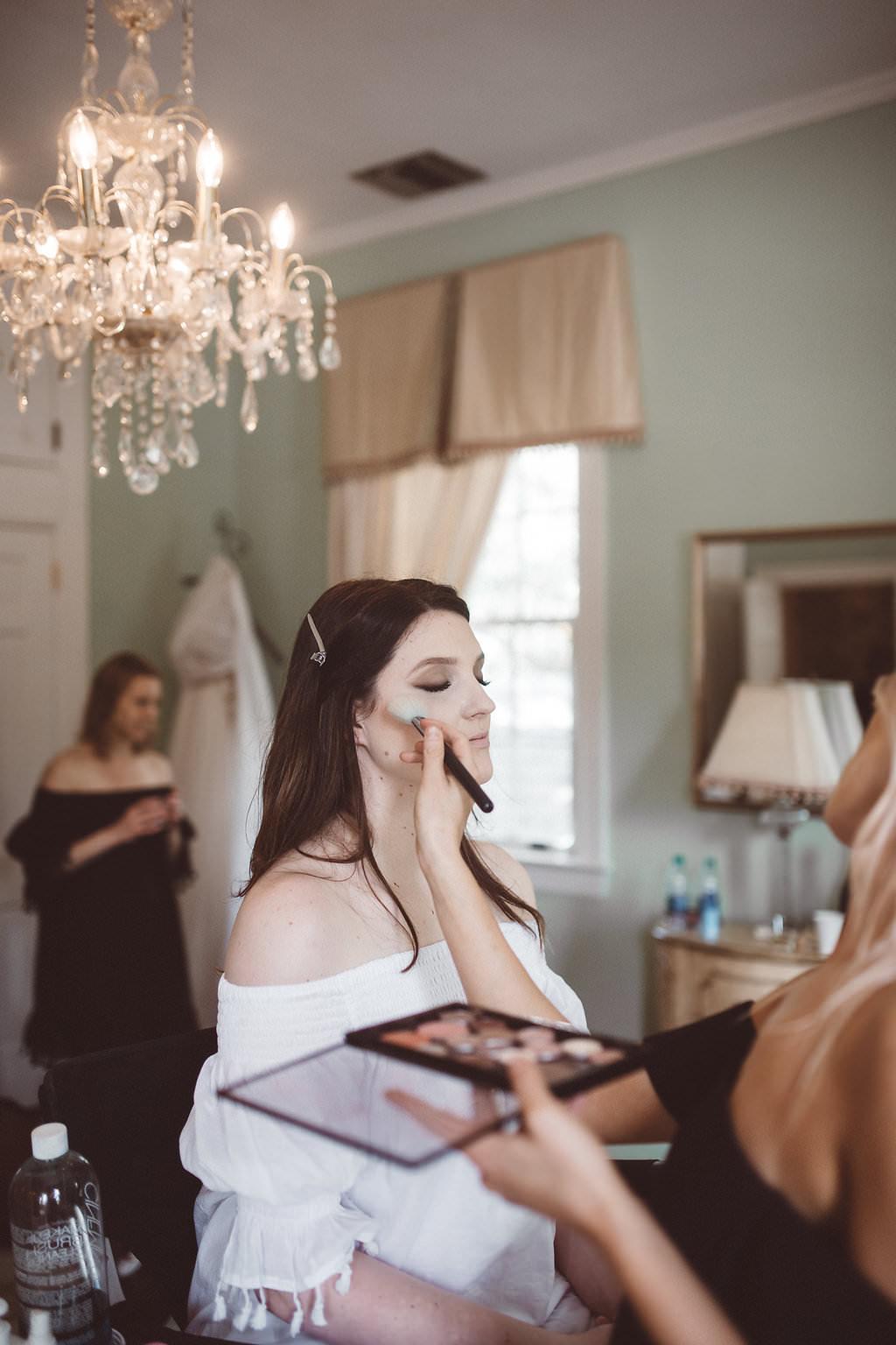 Bride Bridal Make Up Charleston Wedding Katherine Dalton Photography