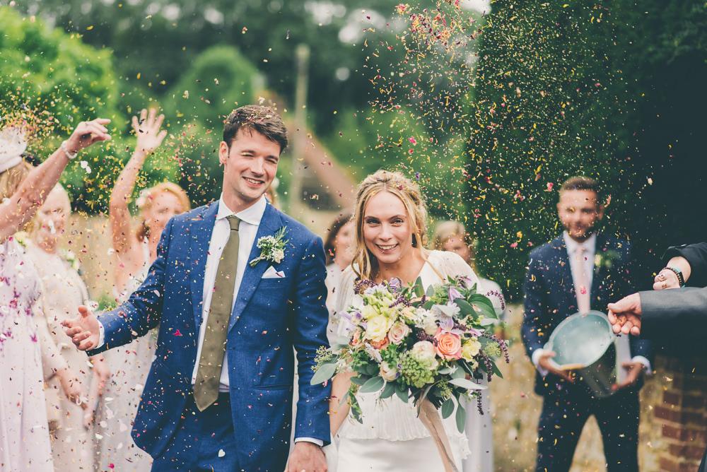 Confetti High Billinghurst Farm Wedding Larissa Joice Photography