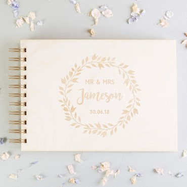 Wedding Guest Books norma&dorothy