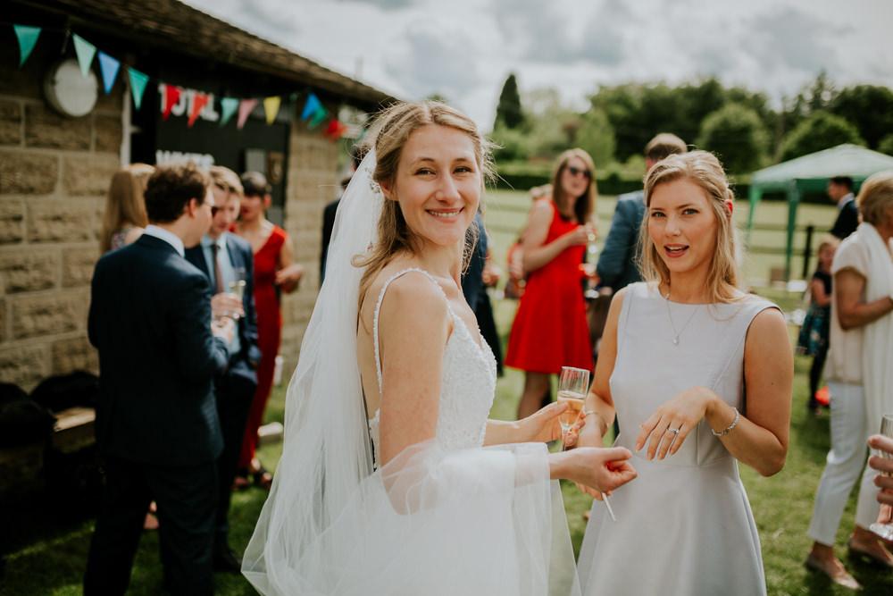 Bride Bridal Dress Gown Straps Train Strappy Beaded Veil DIY Village Hall Wedding PhotoBart