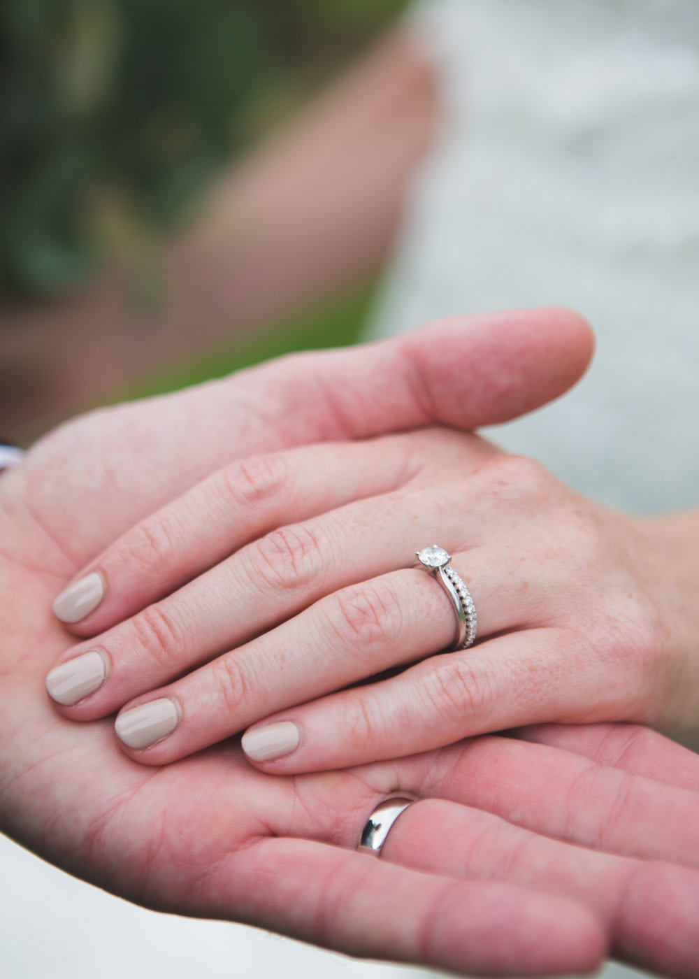 Rings Bands Engagement Diamond Solitaire Airbnb Wedding Pickavance Weddings