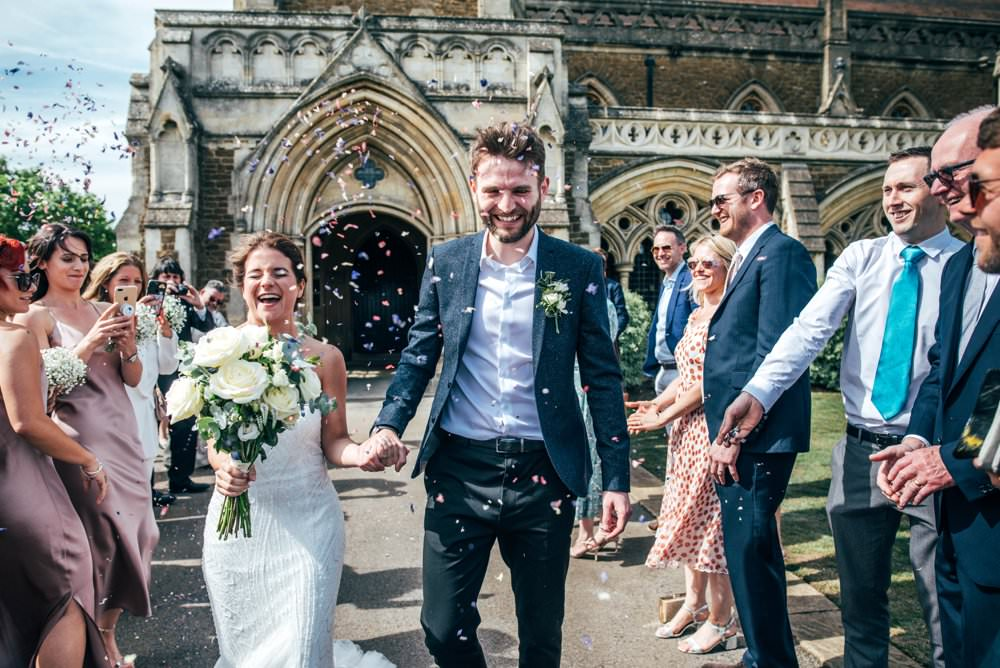 Confetti South African Cloister Charterhouse SchoolWedding Three Flowers Photography