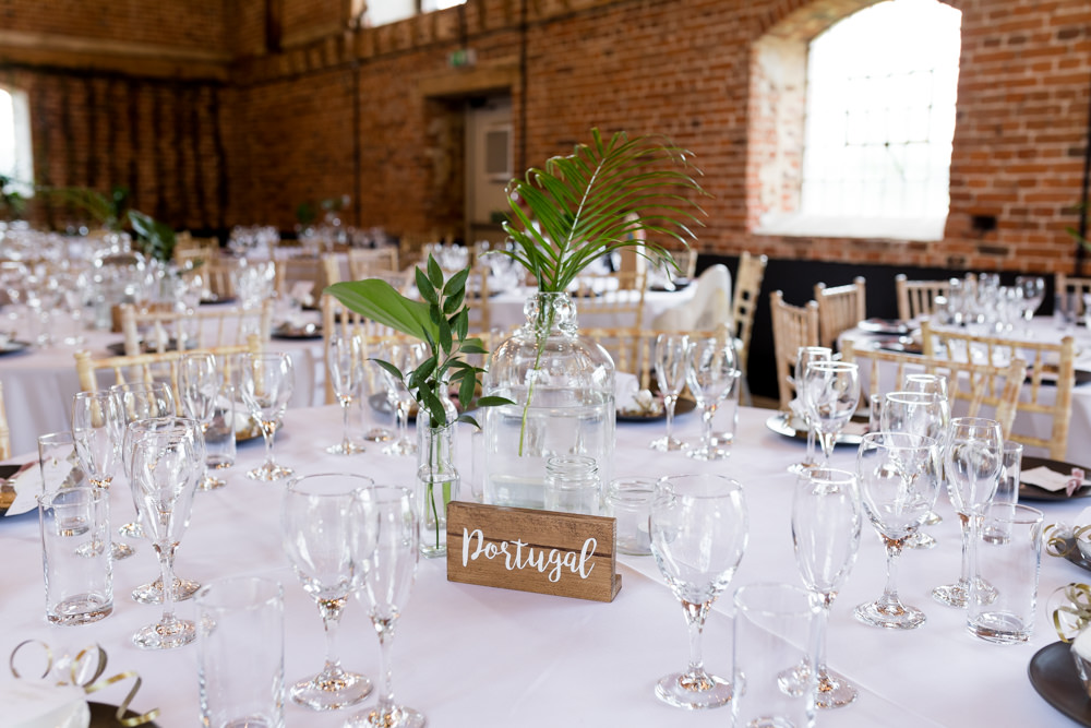Table Name Wooden Blog Calligraphy Botanical Barn Wedding Heather Jackson Photography