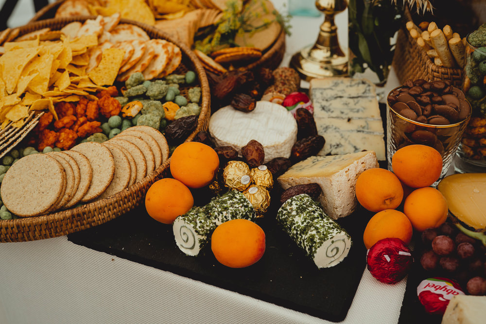 Grazing Table British Countryside Wedding Georgia Rachael Photography