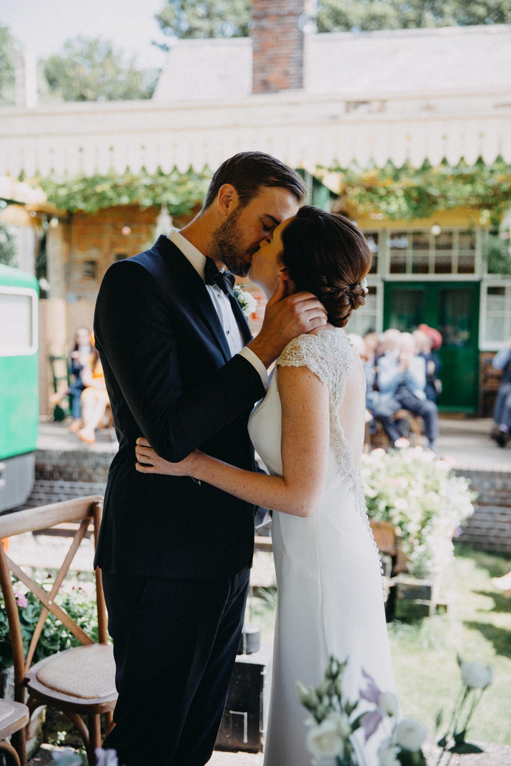 Horsebridge Station Wedding Emily Grace Photography