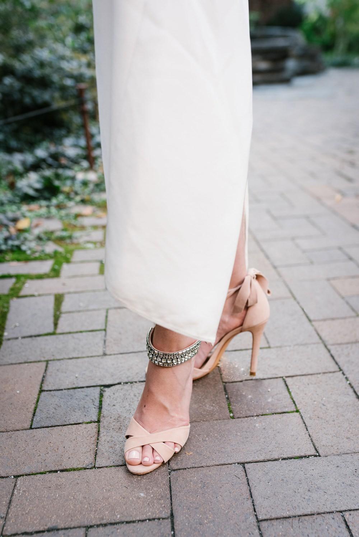 Bride Bridal Shoes Heels Strappy Brooklyn Elopement Everly Studios