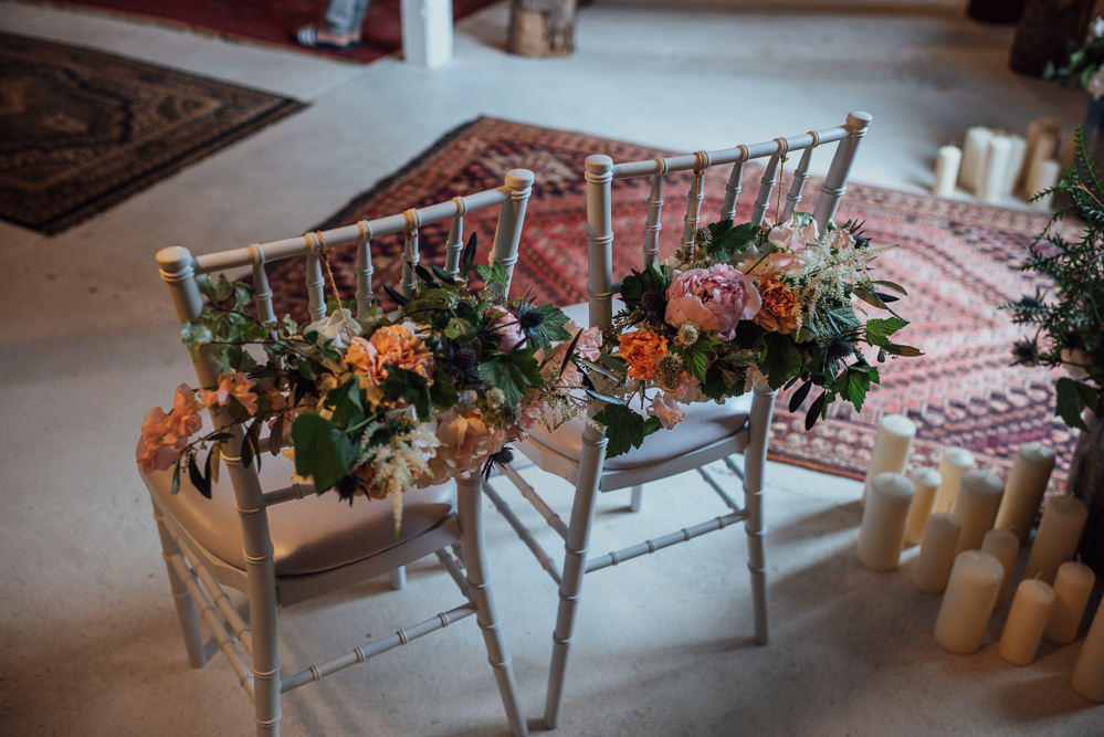 Chair Flowers Decor France Destination Wedding The Shannons Photography