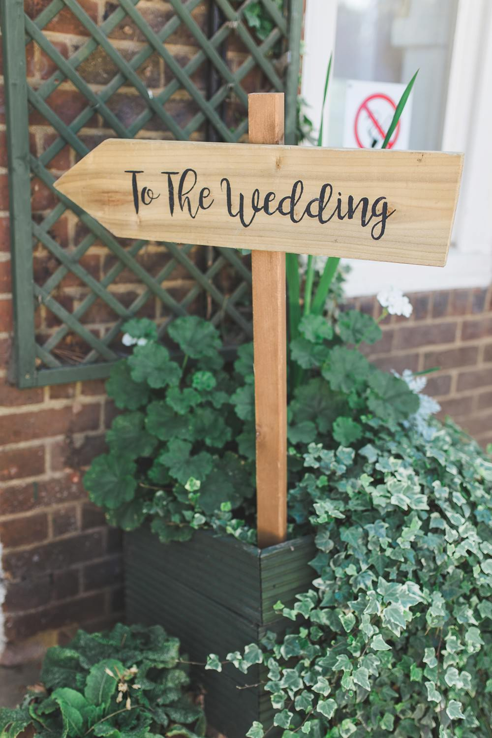 Wooden Sign Signpost Signs Letchworth Wedding Milkbottle Photography