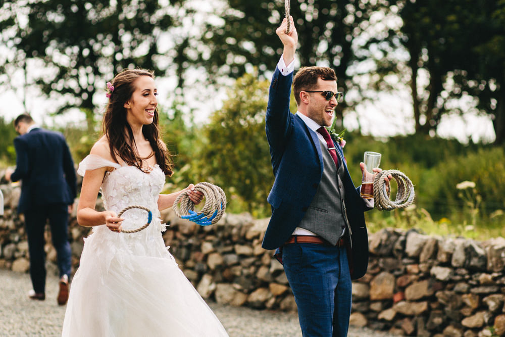 Fete Games Outbuildings Wedding Jessica O'Shaughnessy Photography