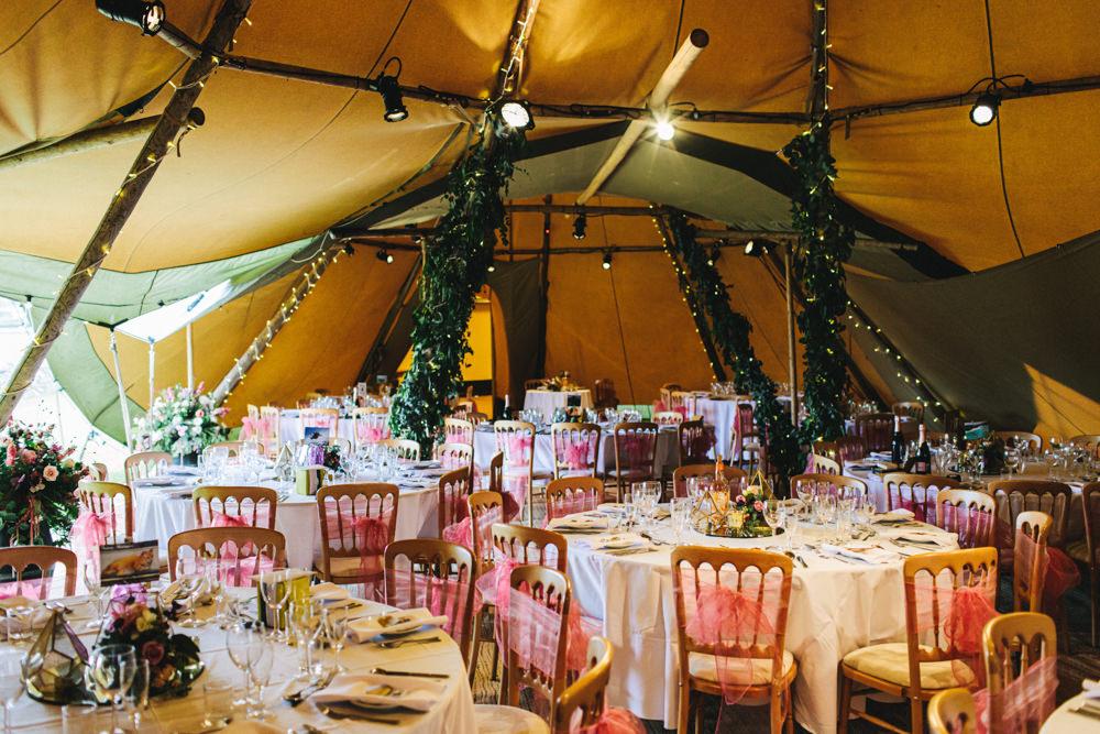 Tipi Decor Outbuildings Wedding Jessica O'Shaughnessy Photography