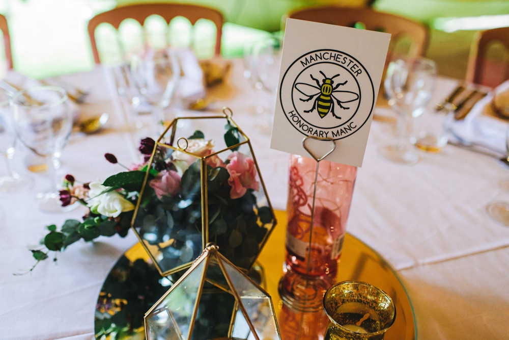 Table Names Outbuildings Wedding Jessica O'Shaughnessy Photography