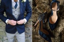 Classic Blue Wedding Ideas Pantone 2020 - Full Image Credits In The Blog Post