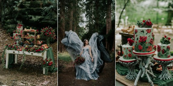 Snow White Wedding Inspiration Joasis Photography