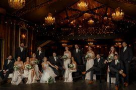 Industrial Barn Wedding Toast Of Leeds