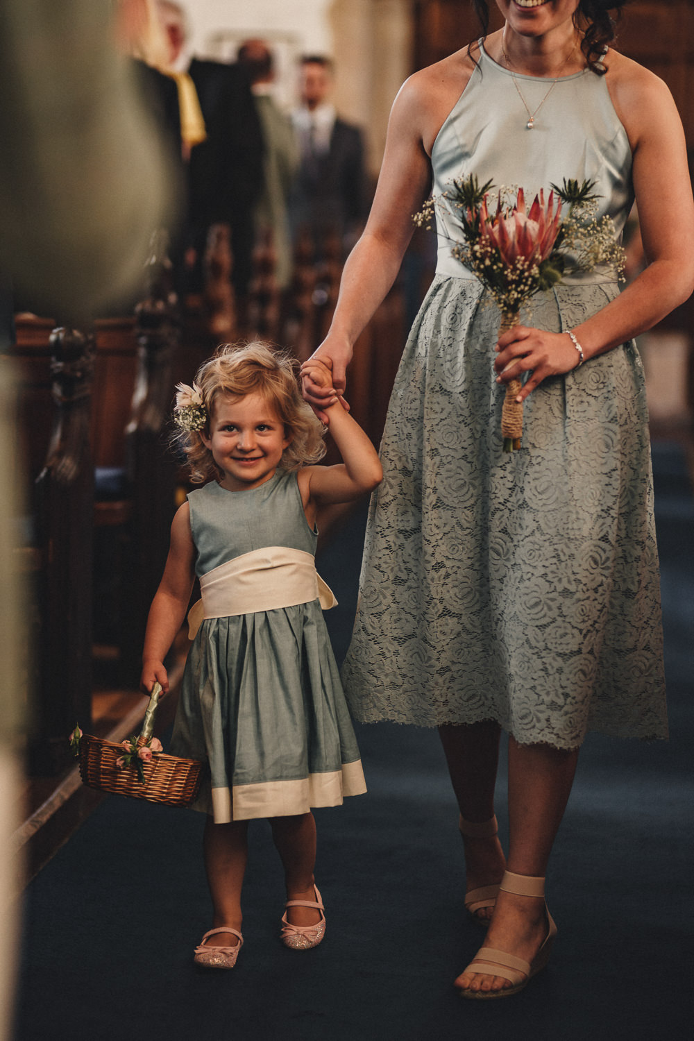 Bridesmaids Bridesmaid Dress Dresses Short Lace Sage Green Flower Girl Marquee Wedding Home The Chamberlins