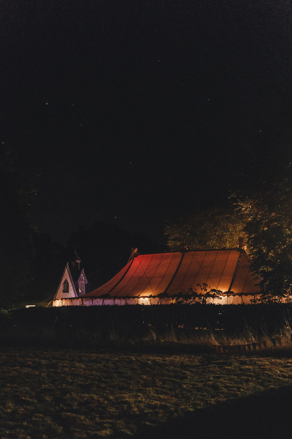Lighting Evening Marquee Wedding Home The Chamberlins