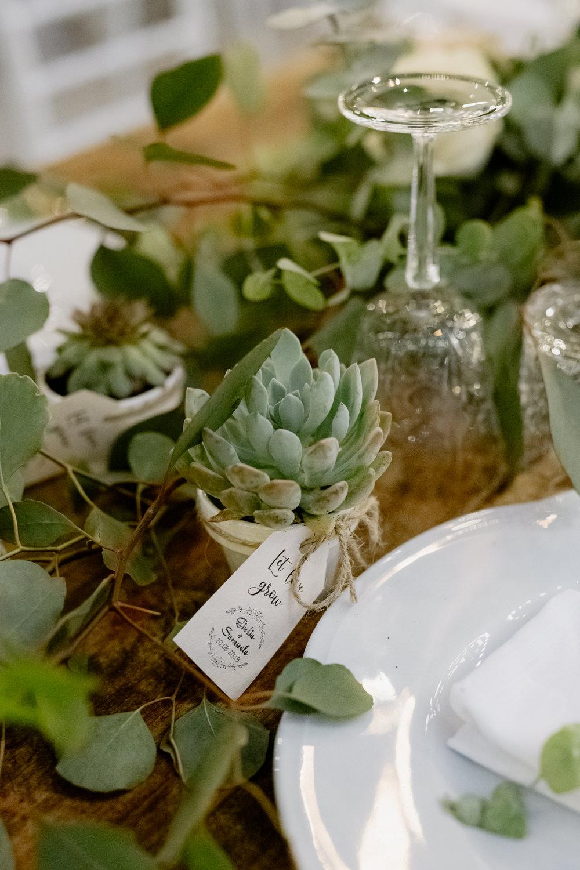 Succulent Favour Natural Italy Villa Wedding Flavia Eleonora Tullio
