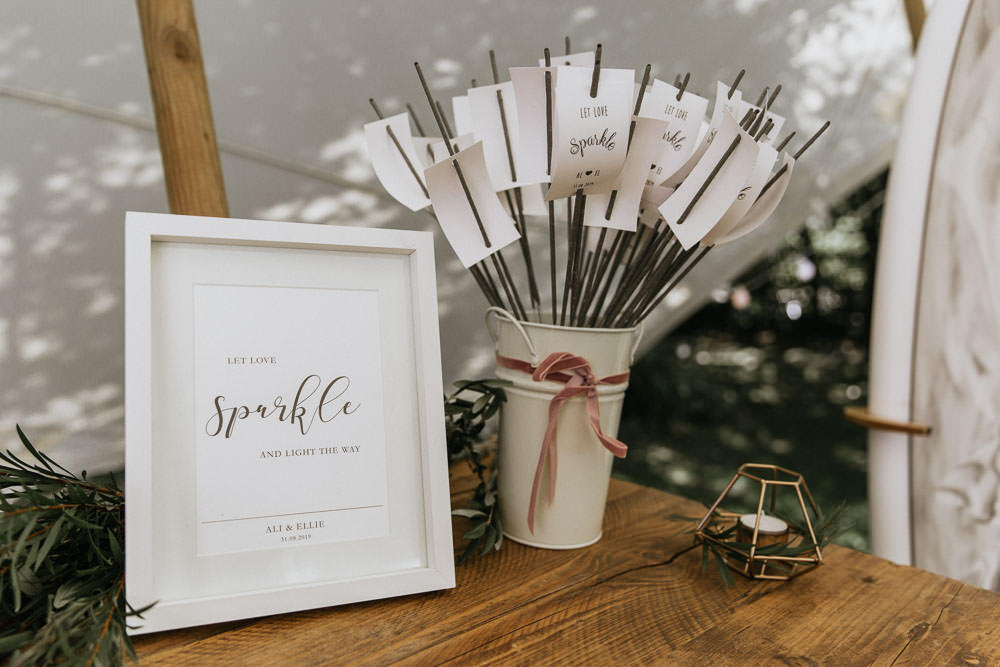 Sparklers Sparkler Summer Boho Wedding Wild Tide Weddings