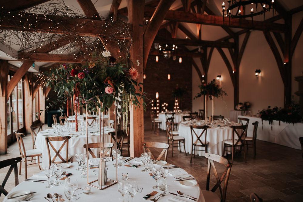 Barn Flowers Decor Decoration Swancar Farm Country House Wedding Maree Frances Photography