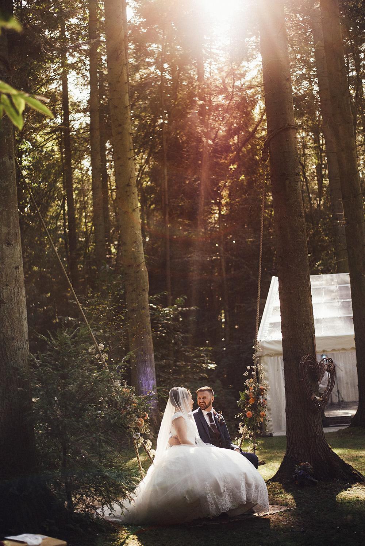 Swing Flowers Longton Wood Wedding Alex Tenters Photography