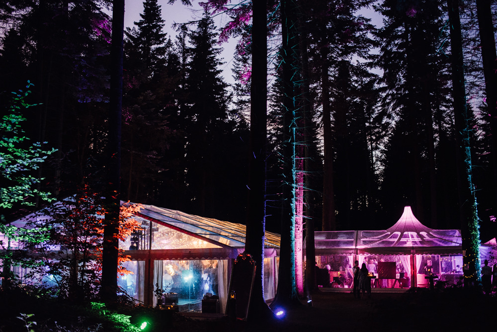 Clear Marquee Lighting Longton Wood Wedding Alex Tenters Photography