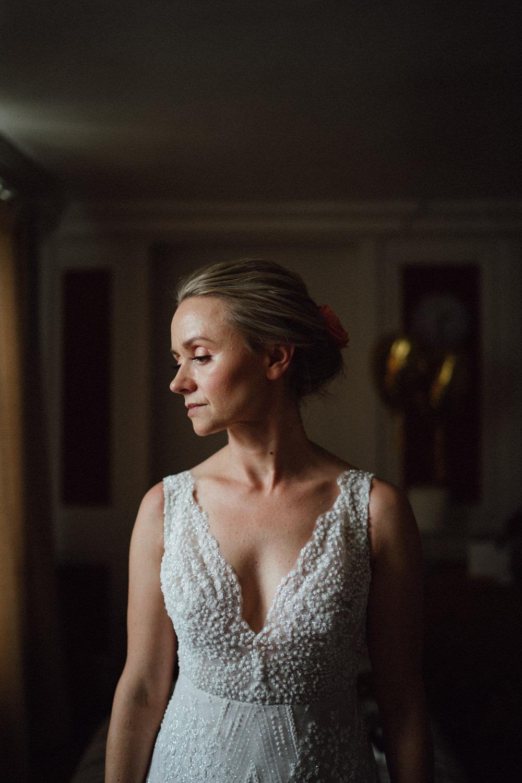 Bride Bridal Hair Make Up Up Do Style Ufton Court Wedding Emily & Steve Photography