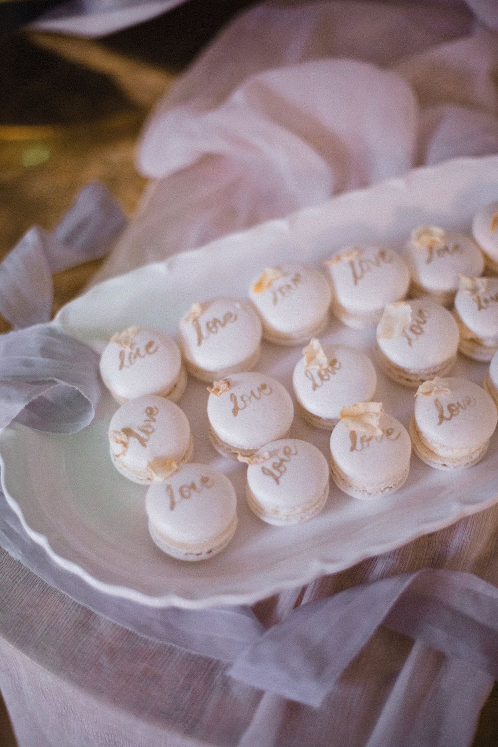 Macarons Love Lettering Whimsical Elegant Wedding Ideas Mandorla London