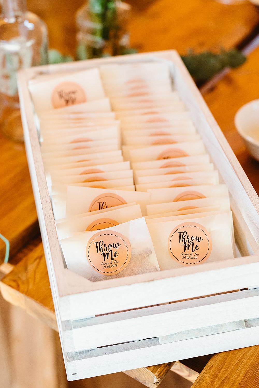 Glassine Confetti Envelopes DIY Tipi Wedding Fiona Kelly Photography