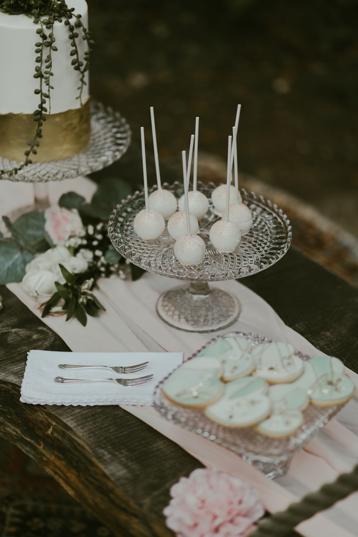 Cake Table Dessert Cake Pops Dreamy Woodland Wedding Ideas Jasmine Andrews Photography