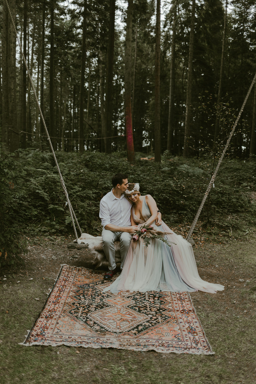 Swing Rug Dreamy Woodland Wedding Ideas Jasmine Andrews Photography