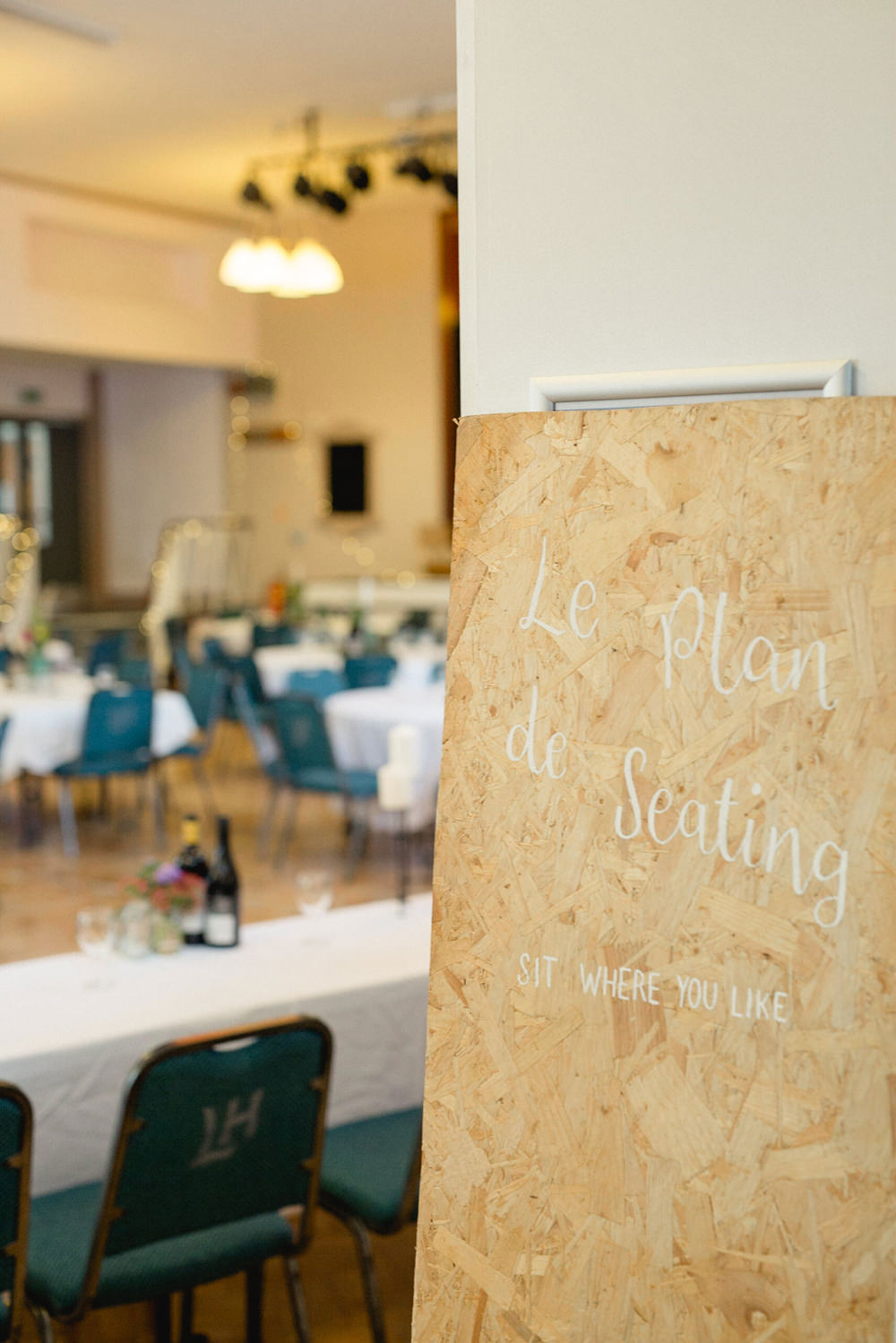 Table Plan Sign Signs Signage Sheffield Town Hall Wedding Mark Newton Wedding Photography
