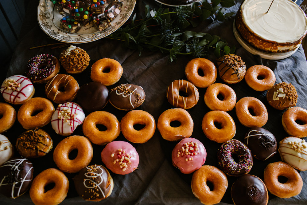 Donuts Titchwell Manor Wedding Honey and The Moon Photography