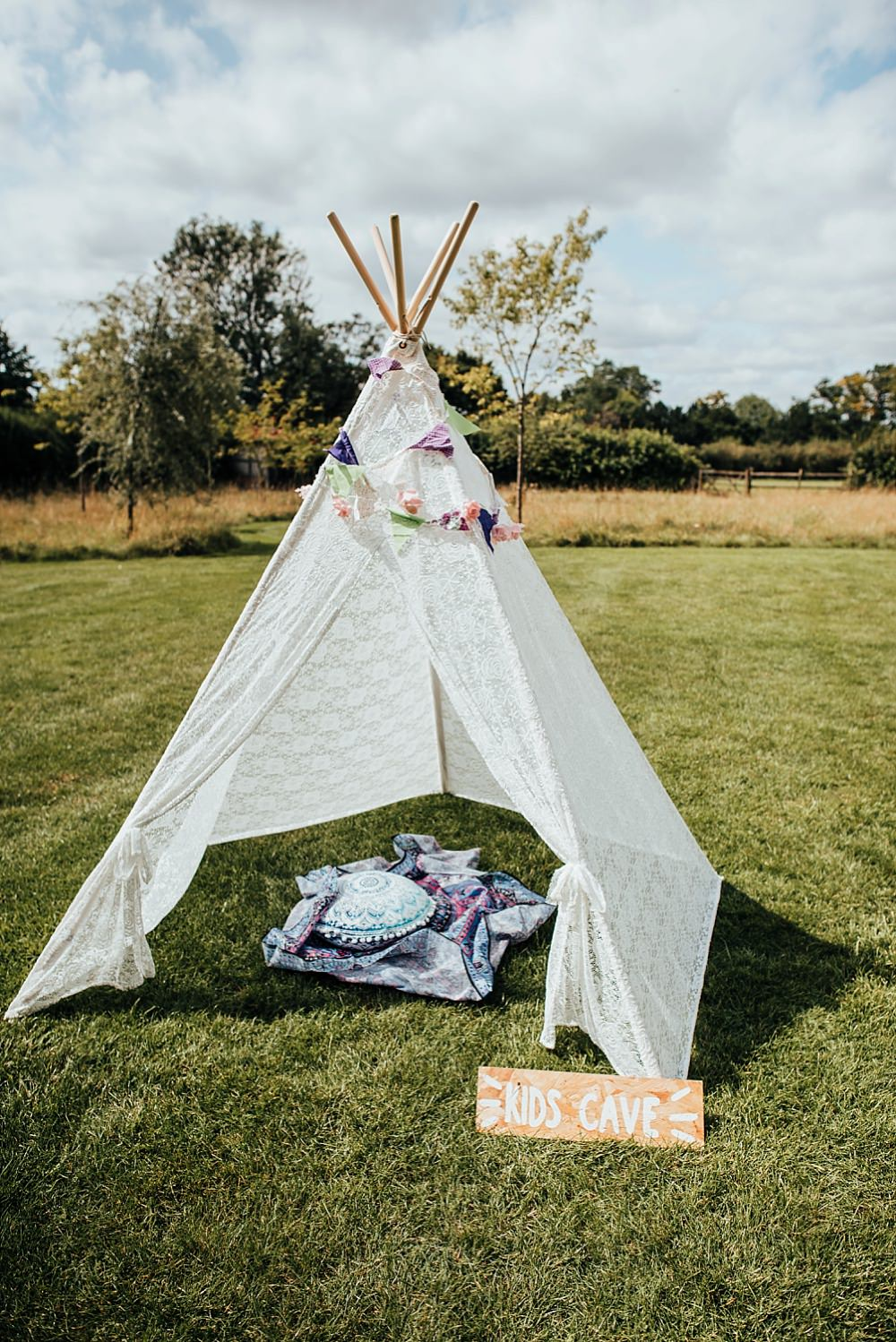 Kids Tipi Tent Boho Rustic Wedding This and That Photography