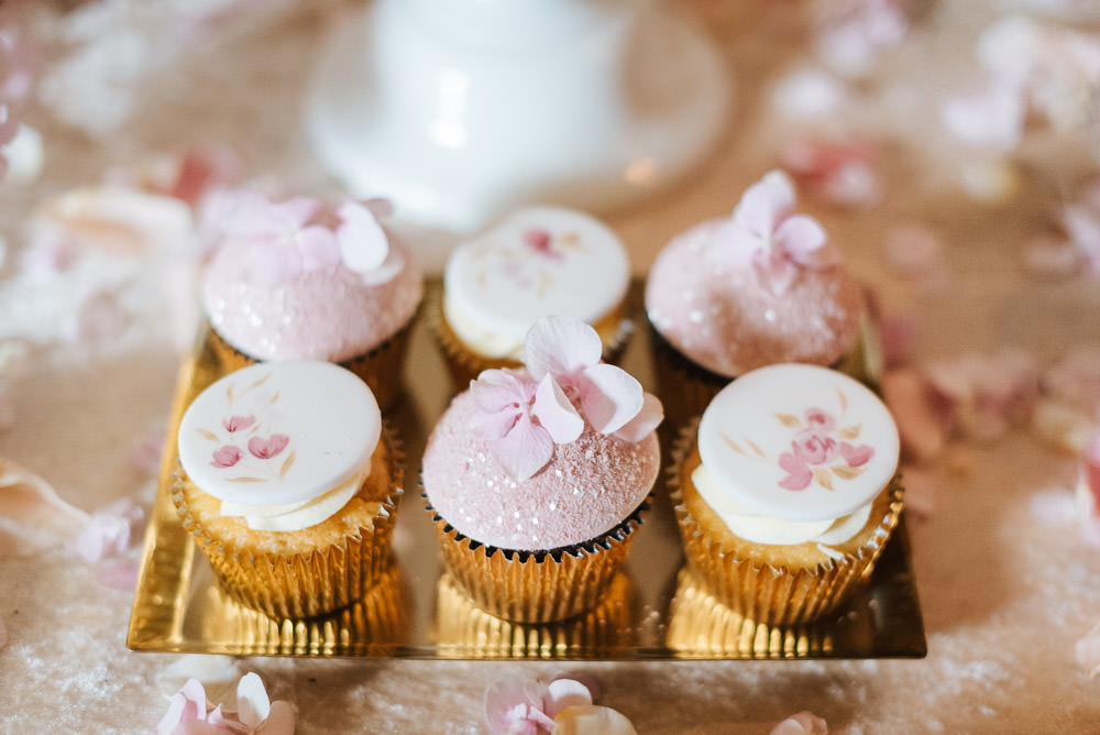 Pink Cupcakes Cherry Blossom Wedding Ideas Sugarbird Photography