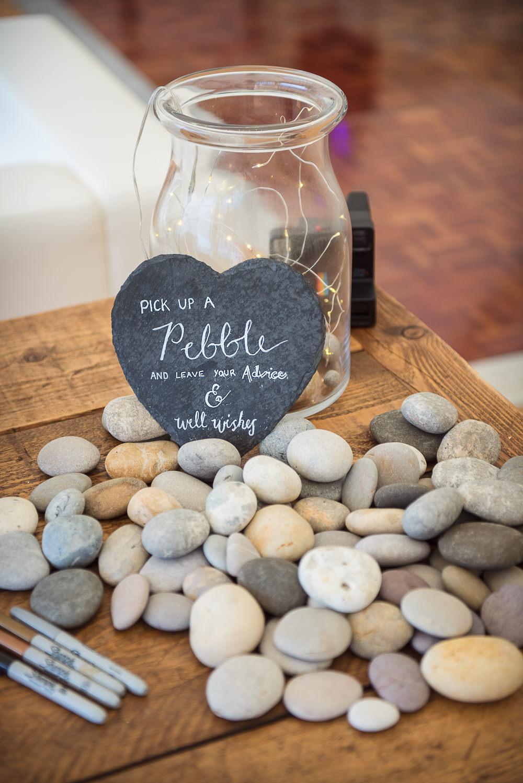 Pebble Jar Guest Book Sopley Lake Wedding One Thousand Words