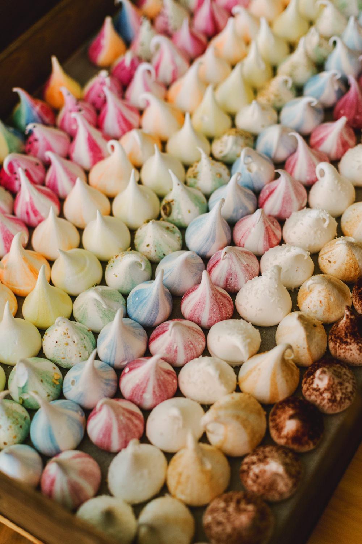 Rainbow Meringues Yew Tree Lakes Wedding Charlotte Hu Photography
