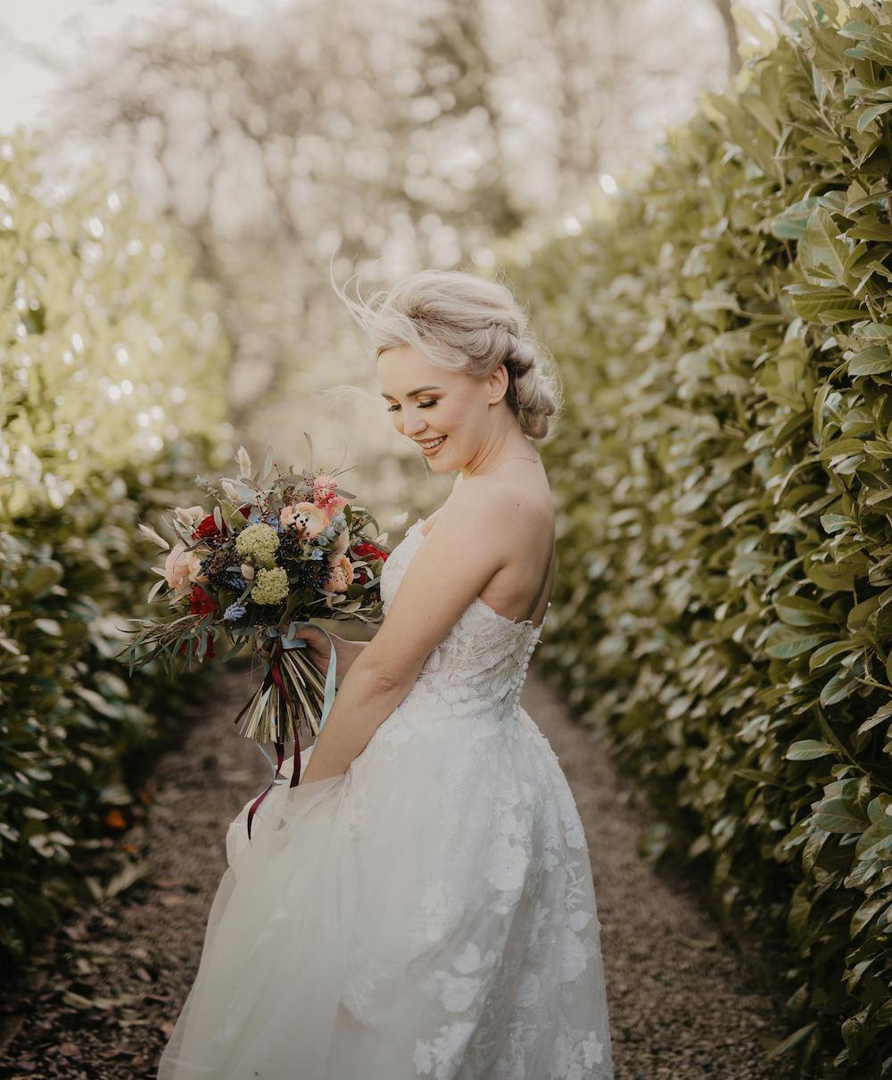 Dress Gown Bride Bridal Strapless France Elopement Ideas Pierra G Photography