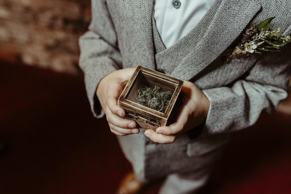 Ring Box Red Brick Barn Wedding Jess Soper Photography
