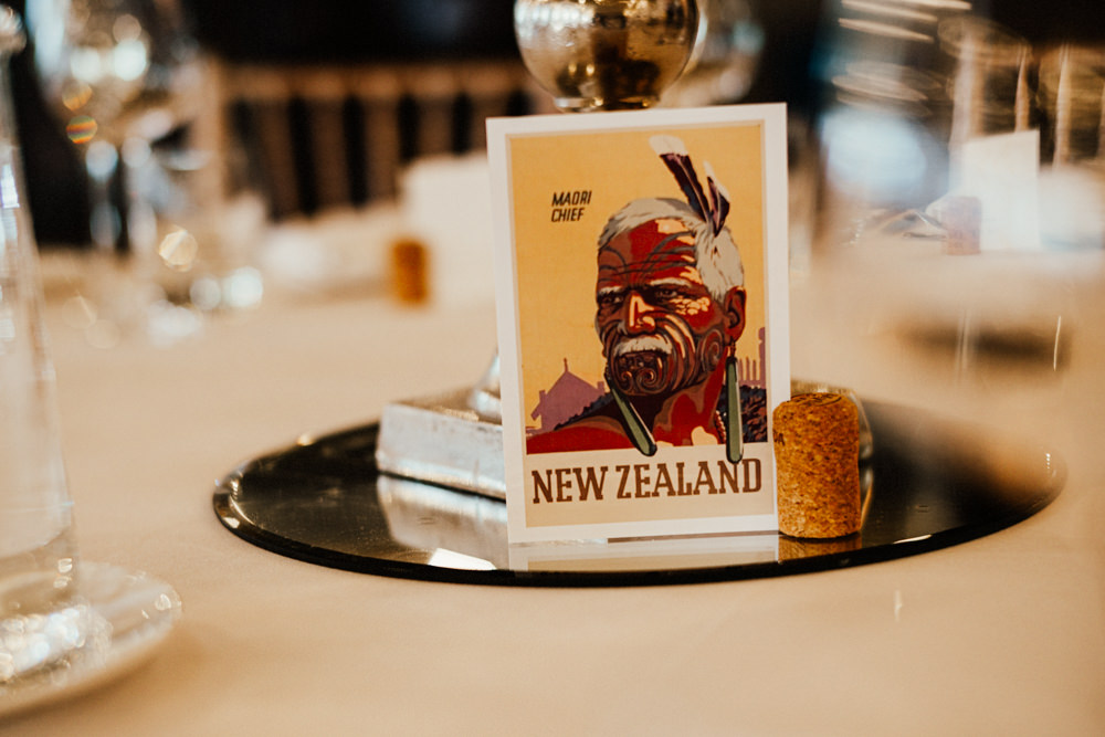 Table Names Travel Brewery Wedding Ginger Beard Weddings