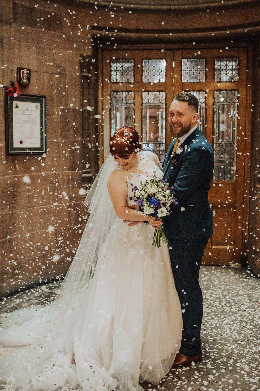 Confetti Throw Homemade Wedding Wyldbee Photography