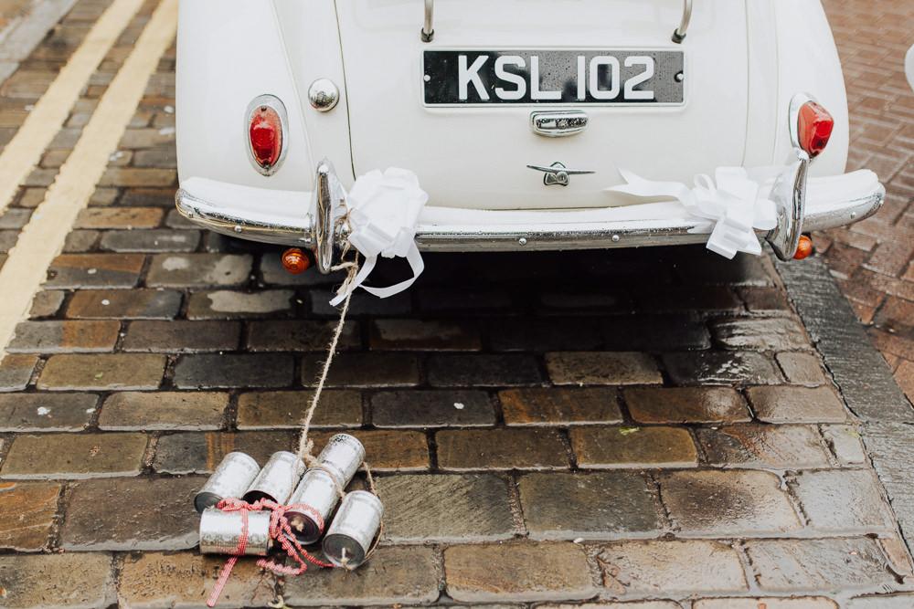 Transport Car Homemade Wedding Wyldbee Photography
