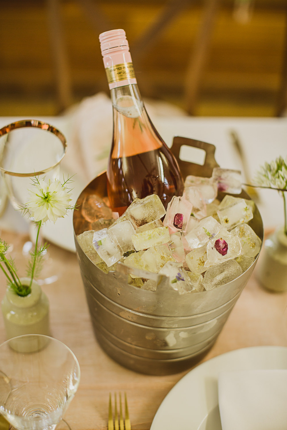 Ice Bucket Drinks Small Wedding Ideas The Springles