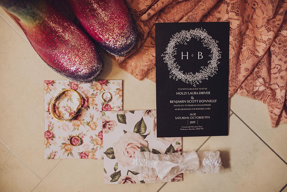 Stationery Invite Invitation Treehouse Wedding Honeydew Moments