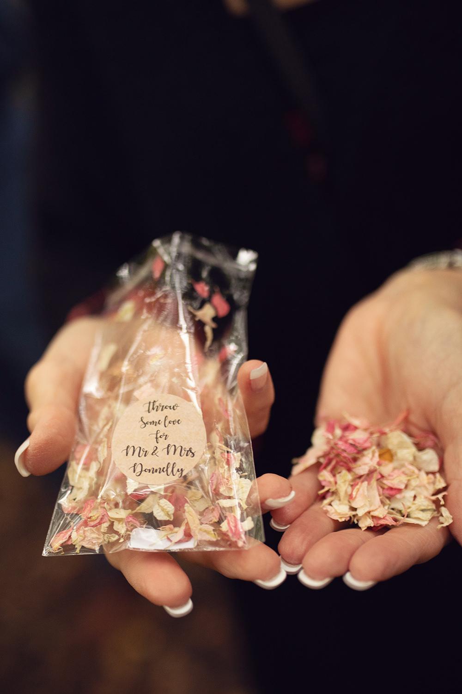 Petal Confetti Treehouse Wedding Honeydew Moments