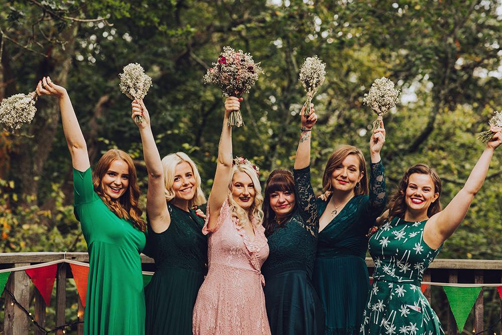 Green Bridesmaid Dress Bridesmaids Dresses Treehouse Wedding Honeydew Moments