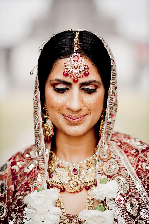 Bride Bridal Make Up Indian Wedding UK Laura May Photography