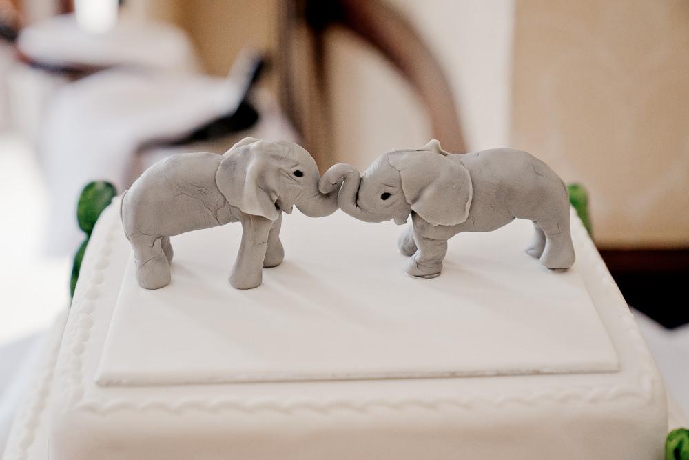 Elephant Cake Tp[[er Indian Wedding UK Laura May Photography