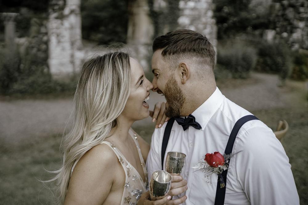Groom Bow Tie Braces Midsummer Night's Dream Wedding Ideas Dani Louise Photography